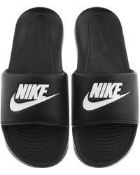 Nike Victori One Sliders - Black