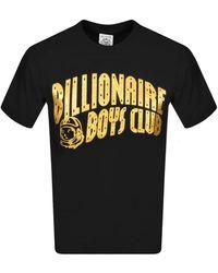 BBCICECREAM Billionaire Boys Glitter Clubt Shirt Gold - Black