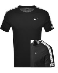 Nike - Crew Neck Repeat Logo T Shirt - Lyst