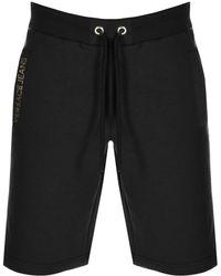 440f27a434a38 Versace Jeans - Foil Logo Sweat Shorts Black - Lyst