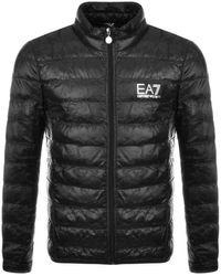 EA7 Emporio Armani Quilted Jacket - Black