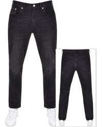 Superdry Conor Taper Denim Jeans - Black