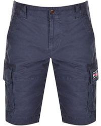 Tommy Hilfiger Cargo Shorts - Blue
