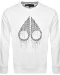 Moose Knuckles Denison Sweatshirt - White