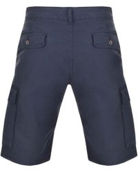 Henri Lloyd Machen Cargo Shorts Navy - Blue