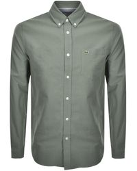 Lacoste Long Sleeved Shirt - Green