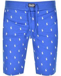 Ralph Lauren Logo Shorts - Blue