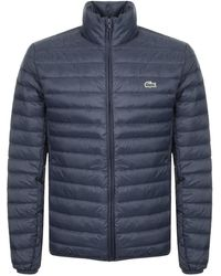 8dc3da5c4b Full Zip Padded Jacket Navy - Blue