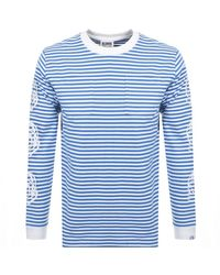 BBCICECREAM Long Sleeved T Shirt - Blue