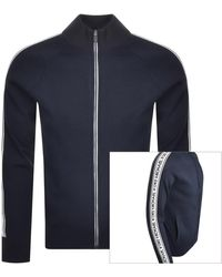 Michael Kors Full Zip Sweatshirt - Blue