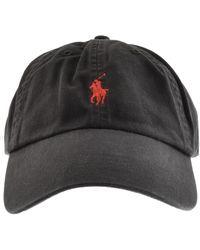 Ralph Lauren Classic Baseball Cap - Black