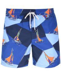 Ralph Lauren - Polo Sailboat Swim Shorts - Lyst