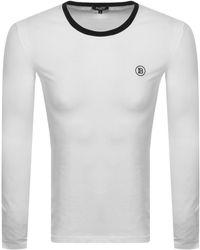 Balmain Ringer Ls T Shirt - White