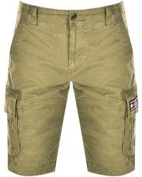 Tommy Hilfiger Cargo Shorts - Green