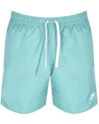 13fc0ce375 Nike Flow Swim Shorts in Blue for Men - Lyst
