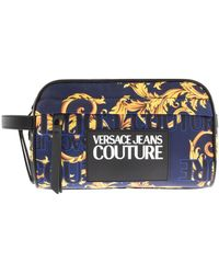 Versace Jeans Couture Baroque Washbag - Blue
