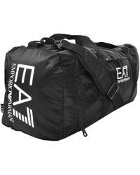 EA7 - Train Prime Gym Bag Black - Lyst