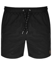 Luke 1977 Great Gold Lion Swim Shorts - Black