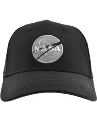 547b72962 Nasa Cap Black