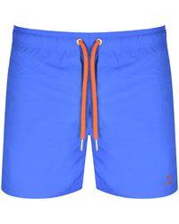 GANT Basic Swim Shorts - Blue