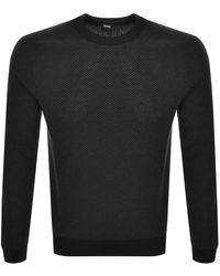 BOSS by Hugo Boss Arrods Knit Sweater - Black
