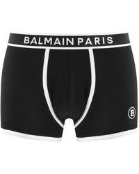 Balmain Underwear Stretch Trunks - Black