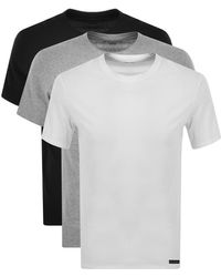 Ted Baker Three Pack T Shirts - Black