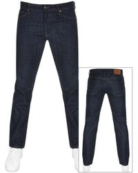 BOSS by Hugo Boss Boss Maine Regular Fit Jeans - Blue