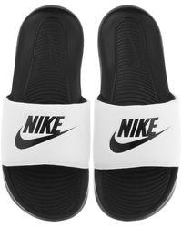 Nike Victori One Sliders - White
