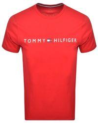 Tommy Hilfiger - Logo T Shirt - Lyst