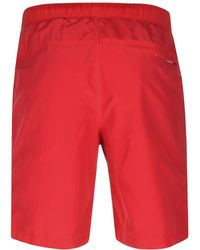 The North Face Class V Rapids Swim Shorts Red