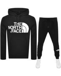 The North Face Standard Logo Tracksuit - Black