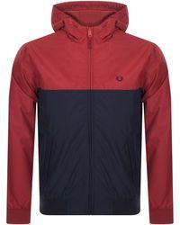 Fred Perry Sky Blue Brentham Jacket J5512