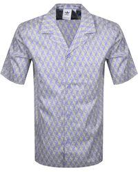 adidas Originals Monogram Shirt - Purple