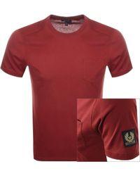 Belstaff - New Thom T Shirt Red - Lyst