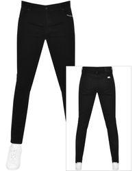 Pretty Green Blarin Skinny Fit Jeans - Black