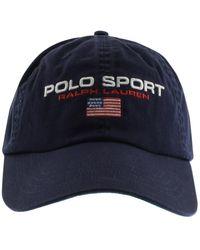 Ralph Lauren Polo Sport Baseball Cap - Blue