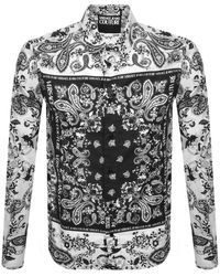 Versace Jeans Couture Couture Long Sleeve Shirt - White
