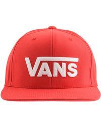 Vans Vii Snapback Baseball Cap - Red