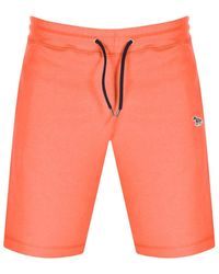 Paul Smith Ps By Sweat Shorts - Orange