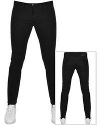 HUGO 734 Extra Slim Fit Jeans - Black