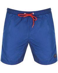 Paul & Shark Paul And Shark Swim Shorts - Blue