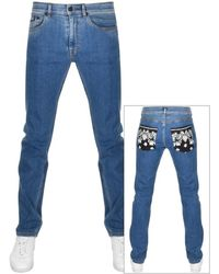 Versace Jeans Couture Couture Slim Fit Jeans - Blue