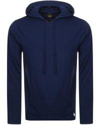 Ralph Lauren - Long Sleeved Hooded T Shirt - Lyst