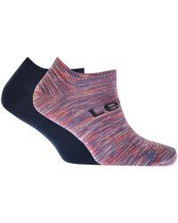 Levi's - 2 Pack 168sf Trainer Socks - Lyst