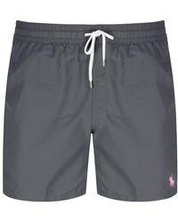 Polo Ralph Lauren Traveler Swim Shorts Gray
