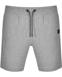 BOSS by HUGO BOSS Boss Skoleman Sweat Shorts - Grey