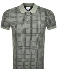 Lacoste Short Sleeved Polo T Shirt - Green