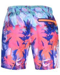 Superdry - Premium Neo Swim Shorts Pink - Lyst