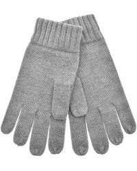 Ralph Lauren Wool Gloves Gray